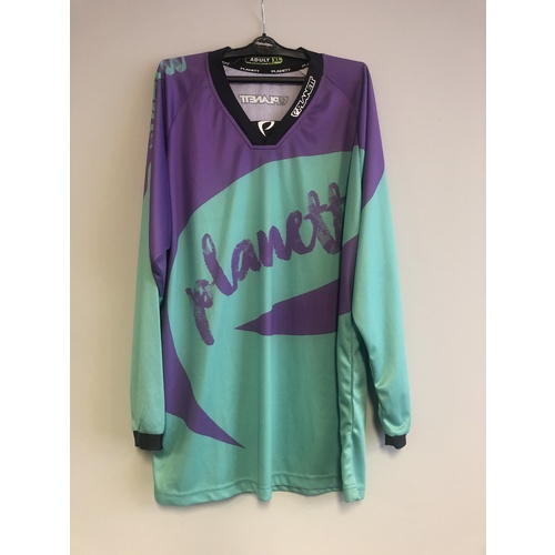Planett Purple Teal Jersey