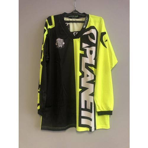 Planett Air8 Neon Yellow Jersey