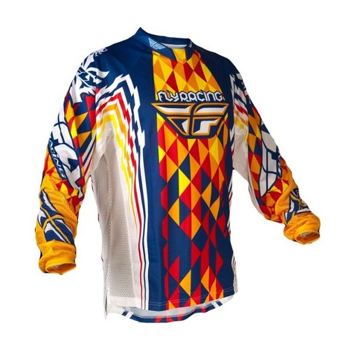 Fly Racing 2012 Kinetic Blue/Orange/Red Jersey