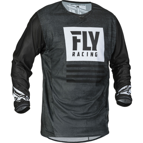Fly 2019 Kinetic Mesh Noiz Black/White Jersey