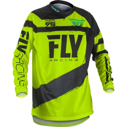 Fly 2018 F-16 Black/Hi Vis Jersey