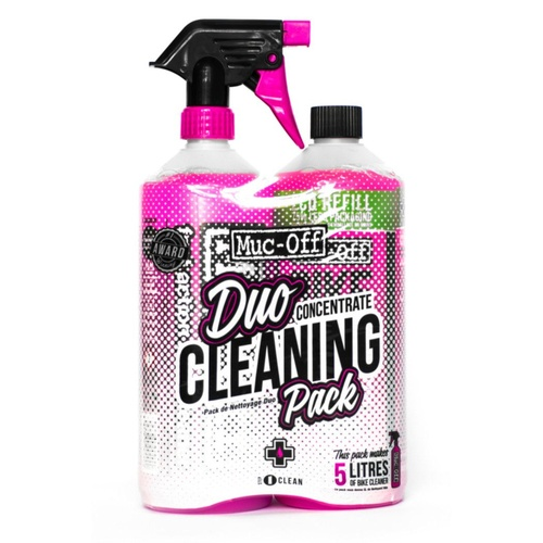 Muc-Off Duo Concentrate Cleaning Pack