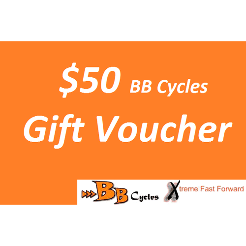 $50 BB Cycles Gift Voucher
