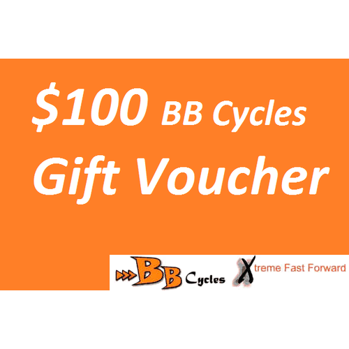 $100 BB Cycles Gift Voucher