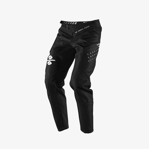 100% 2019 R-Core Youth Pants Black